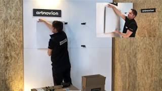 Fixart Clip - Two Panels Installation