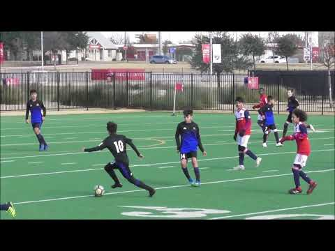 U14 Friendly FC Dallas DA Vs. Solar SC DA Dec 9 2018