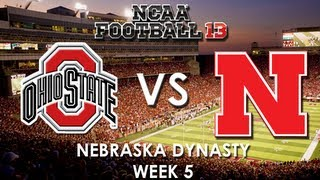 NCAA 13: Nebraska Cornhuskers vs. Ohio State Buckeyes
