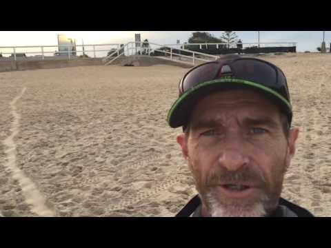 Beach Detecting Nobbys Beach