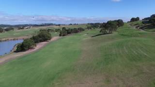 Flyover 17th Hole @ The Links Shell Cove
