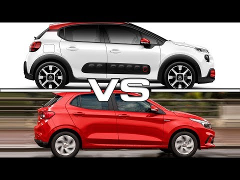 2017 Citroen C3 vs 2018 Fiat Argo