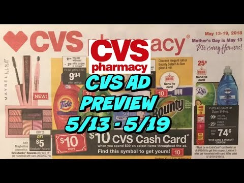 CVS EARLY AD PREVIEW  5/13 - 5/19 | Cheap Tide, Oxi Clean & more!!!