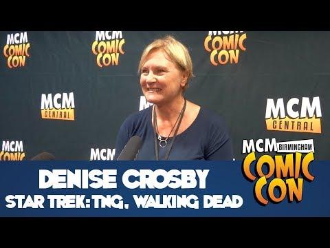 Denise Crosby Press Panel  MCM Comic Con Birmingham  Nov 2017