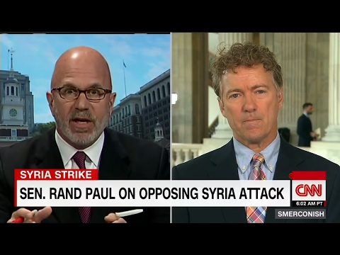 Rand Paul on the Illegal US Syrian Bombing and John McCain