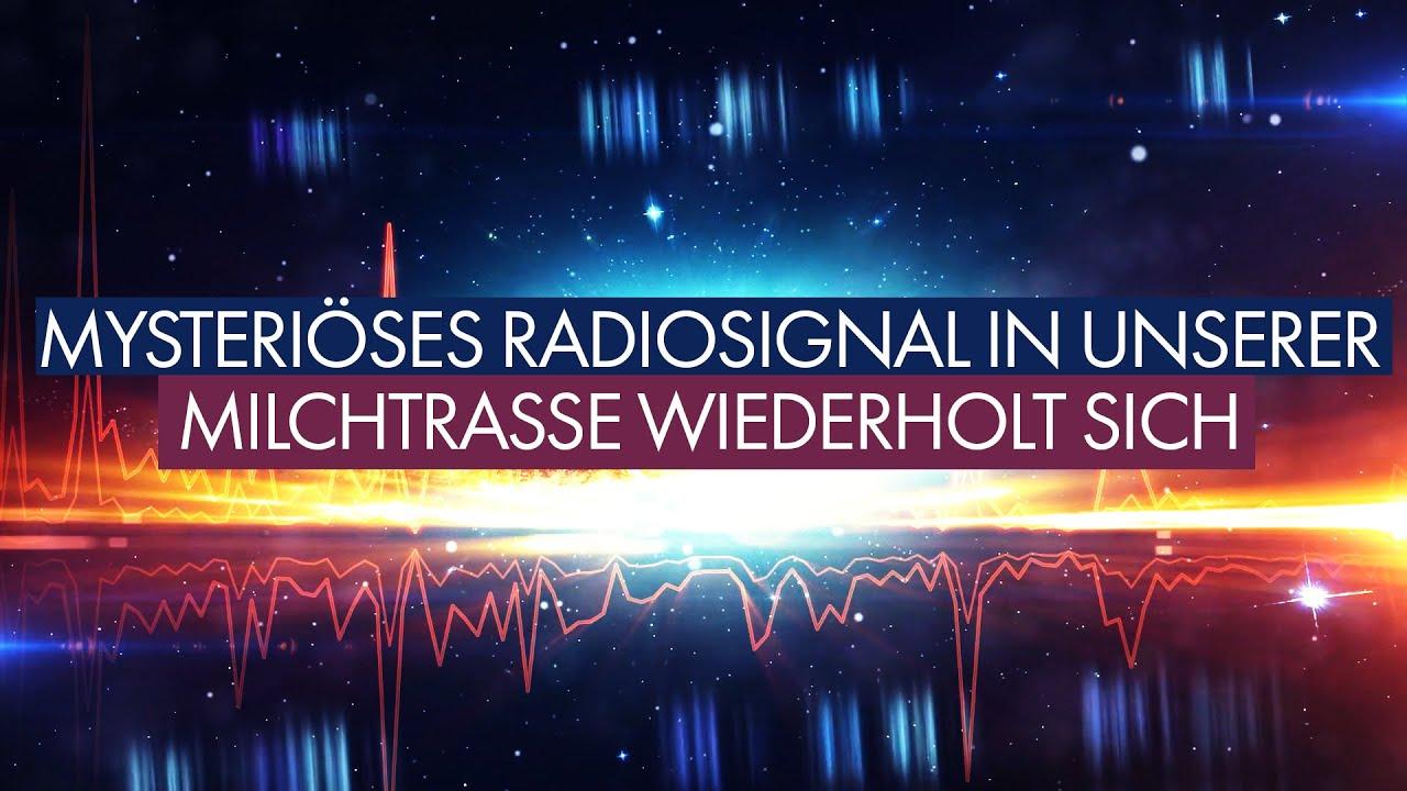 Mysteriöses Radiosignal in unserer Milchstrasse wiederholt sich
