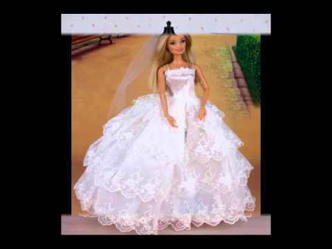Couture robe de mariee barbie