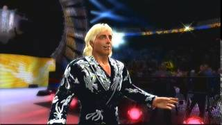 WWE 2K14 - Ric Flair Retro Enrtrance (Four Horsemen)