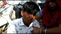 Old Faridabad, में स्कूटी पर घूम रहे युवक का आरोप पुलिस ने डंडा मार कर तोड़ा पैर, भेजा गया अस्पताल