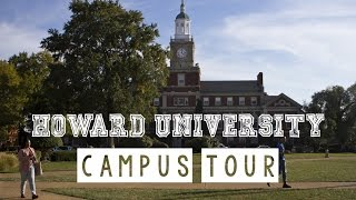 Howard University: College Campus Tour Vlog