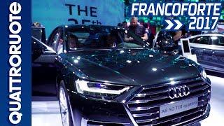 Audi A8 con guida autonoma al Salone di Francoforte 2017 | Quattroruote