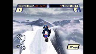Sled Storm (PS1) - 08 - Open Mountain - Finishing