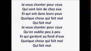 Michel Berger - Chanter pour ceux (avec les paroles)