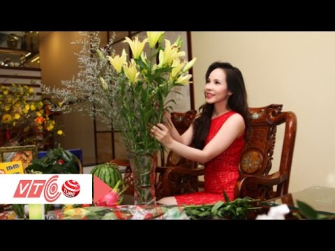 Cách đơn giản giữ hoa ly tươi lâu ngày tết | VTC