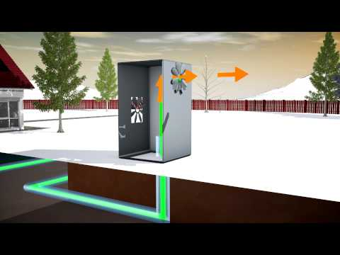 3D animation - energy-saving house Isomax