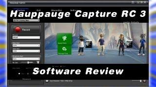 ☼ Hauppauge Capture RC3: Review- Hauppauge HD PVR2 NEW Capture Software