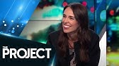Jimmy Carr interviewed by New Zealand Prime Minister Jacinda Ardern | The Project NZ