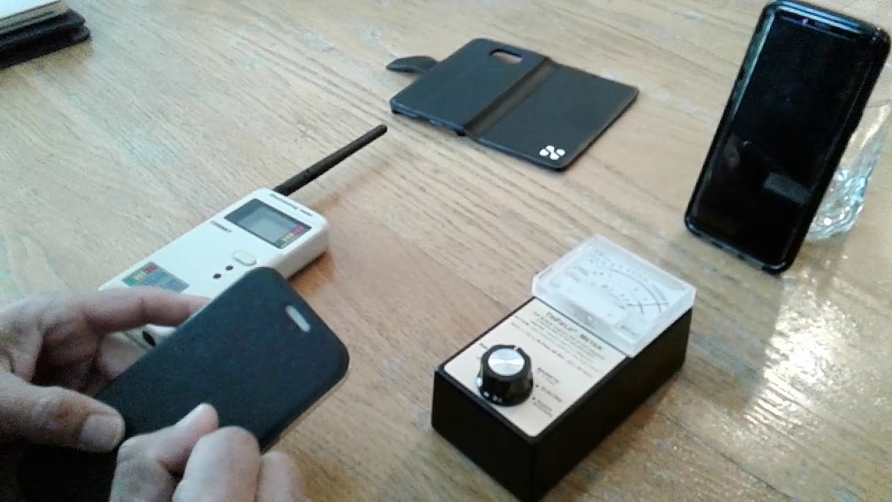 88ac2ce5e RF Safe phone case vs. SafeSleeve - YouTube