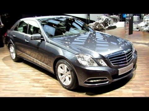 2012 Mercedes-Benz E300 Bluetec Hybrid - Exterior and Interior Walkaround - 2012 Paris Auto Show