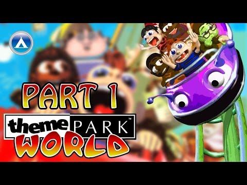 Theme Park World Gameplay Playthrough Part 1 HD