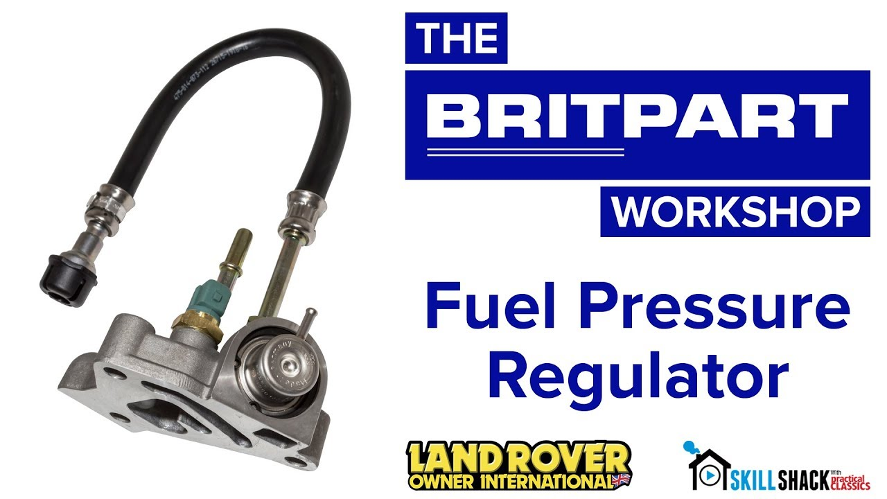 easy fuel pressure regulator replacement for land rover td5 engines