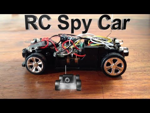 how to make a cheap rc spy car youtube. Black Bedroom Furniture Sets. Home Design Ideas