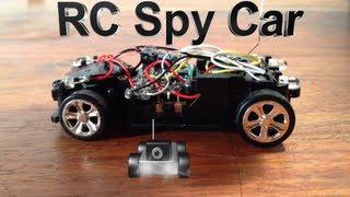 How to Make a Cheap RC Spy Car