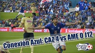Desde la Tribuna: Cruz Azul vs América J12, Conexión Azul.