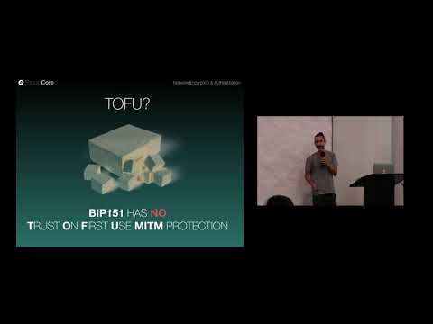 Jonas Schnelli: Bitcoin P2P Network Encryption & Authentication