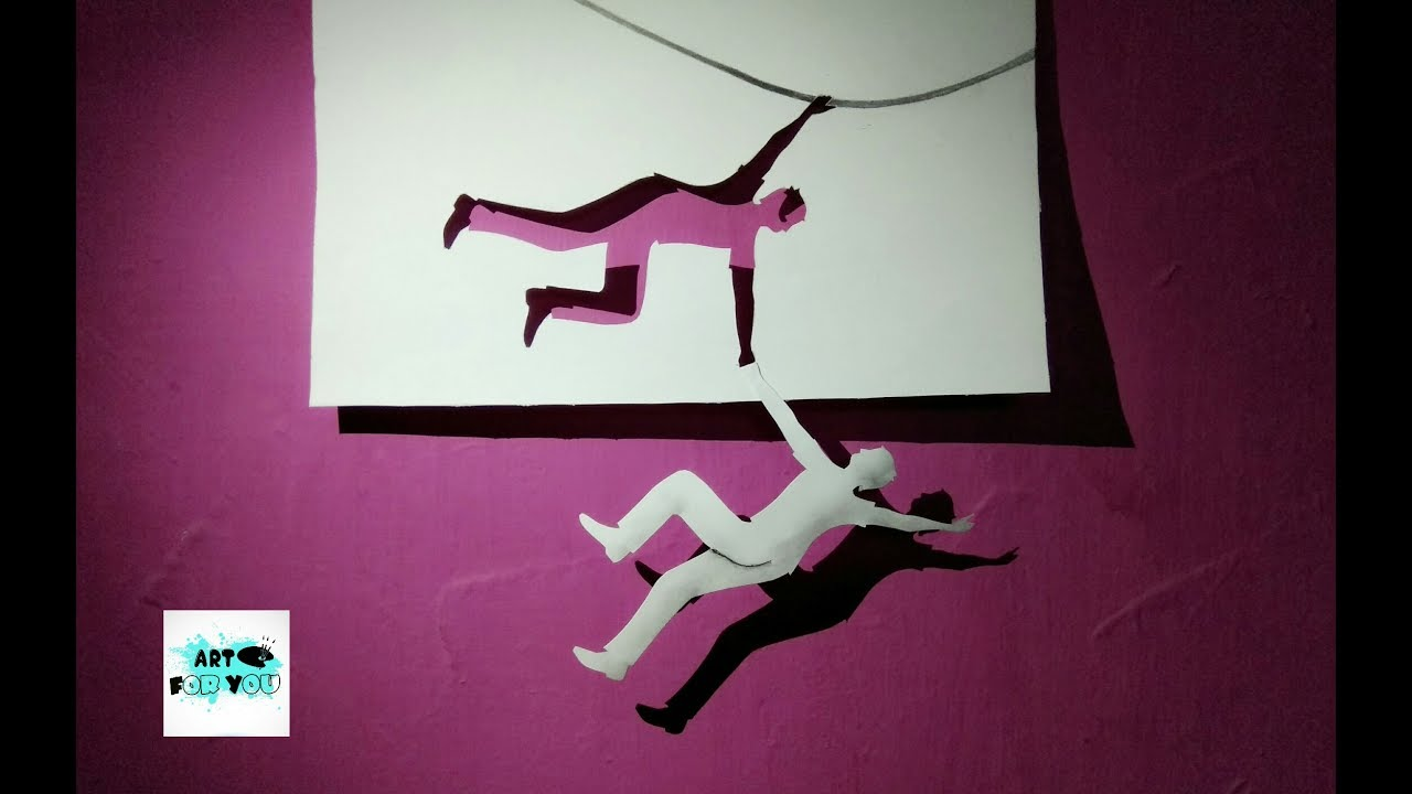 cool 3d paper art 3d art on paper step by step how to make 3d