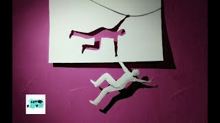 Cool 3D paper Art | 3D art on paper step by step | How to make 3D paper art | cool  Magic with paper