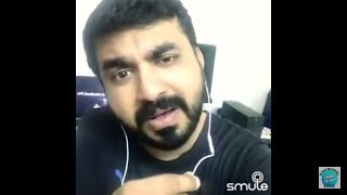 Smule with Kailas Menon - jeevamshamayi from theevandi