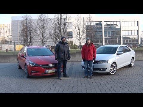Auta bez ściemy – Skoda Rapid kontra Opel Astra