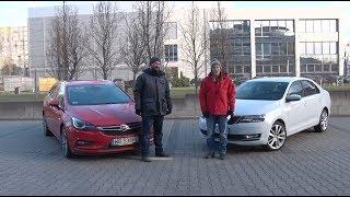 Auta bez ściemy - Skoda Rapid kontra Opel Astra