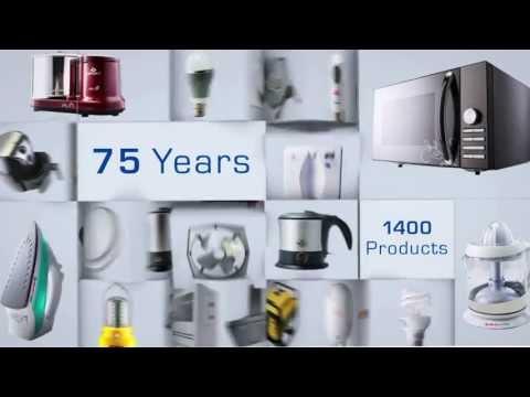 Bajaj Electricals 75 Years