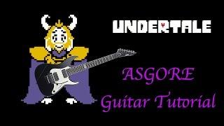 ASGORE - Guitar Tutorial (Undertale)