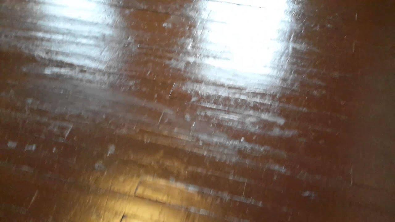 Refinishing Pine Wood Floors No Sanding No Stripping Part 2