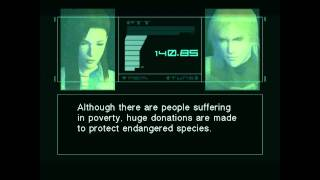The Most Profound Moment in Gaming: MGS2 AI Conversation Analysis Part 1 of 2