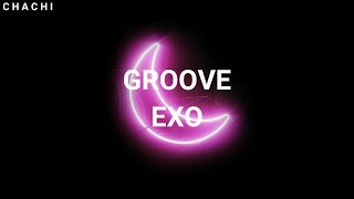 """""""GROOVE"""" - EXO - EASY LYRICS"""