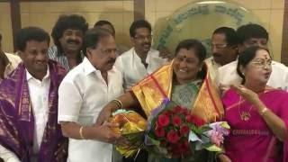 KFCC Honor Bengaluru Mayor Padmavathi