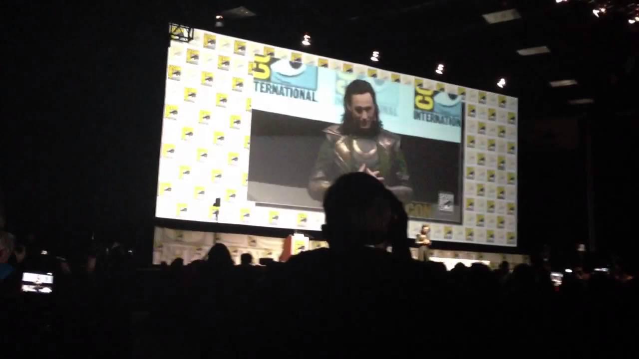 Loki introduces Thor 2 footage