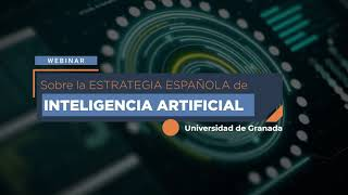 WEBINAR ESTRATEGIA NACIONAL DE INTELIGENCIA ARTIFICIAL (ENIA)