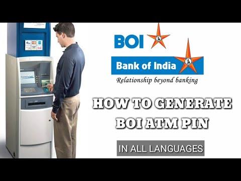 Bank Of India ATM Pin Generation Through ATM L BOI PIN Generation L Mobile Tech Tamil