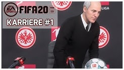 FIFA 20: KARRIEREMODUS - Im Herzen von Europa I Eintracht Frankfurt #001 I Deutsch [FULL HD]