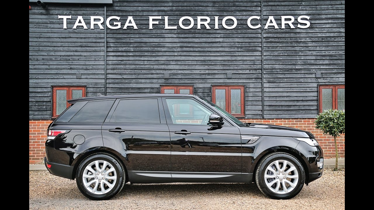 Range Rover Sport 3 0 SDV6 HSE Automatic in Barolo Black with