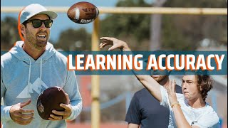 Learning Accuracy for Quarterbacks | QB Summit | Jordan Plamer