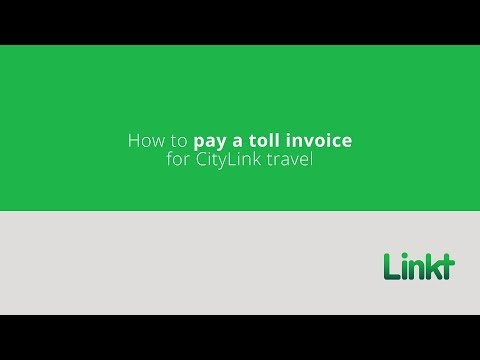 Paying a toll invoice - Linkt