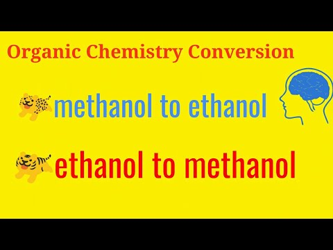 Methanol Vs Ethanol >> Organic Chemistry Conversion Convert Methanol Ch3oh To Ethanol Convert Ethanol To Methanol