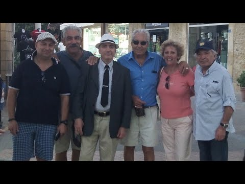 Six Armenians Re-visit Victoria Street, in North Nicosia, Cyprus