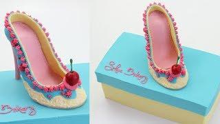 Shoe Bakery Cake - CAKE STYLE - Amazing Cake Decorating